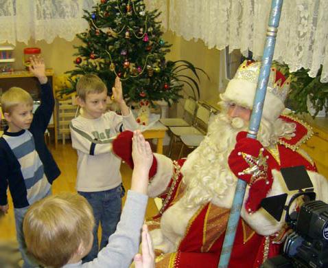 Дед Мороз в костюме